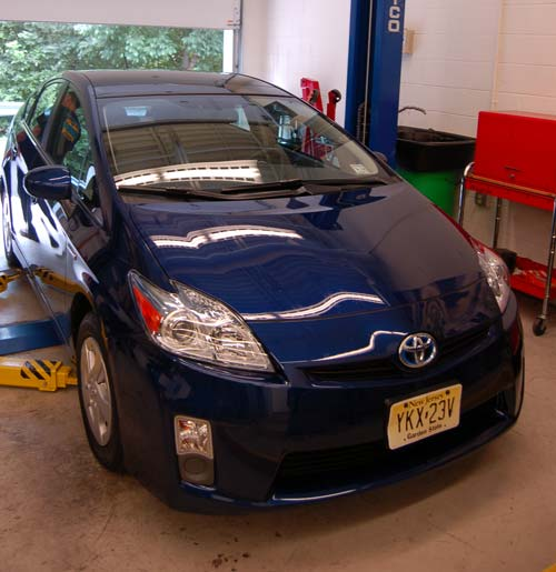 Use caution when recharging A/C systems on hybrid vehicles