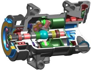 Delphi-5-cylinder-CVC-Compressor