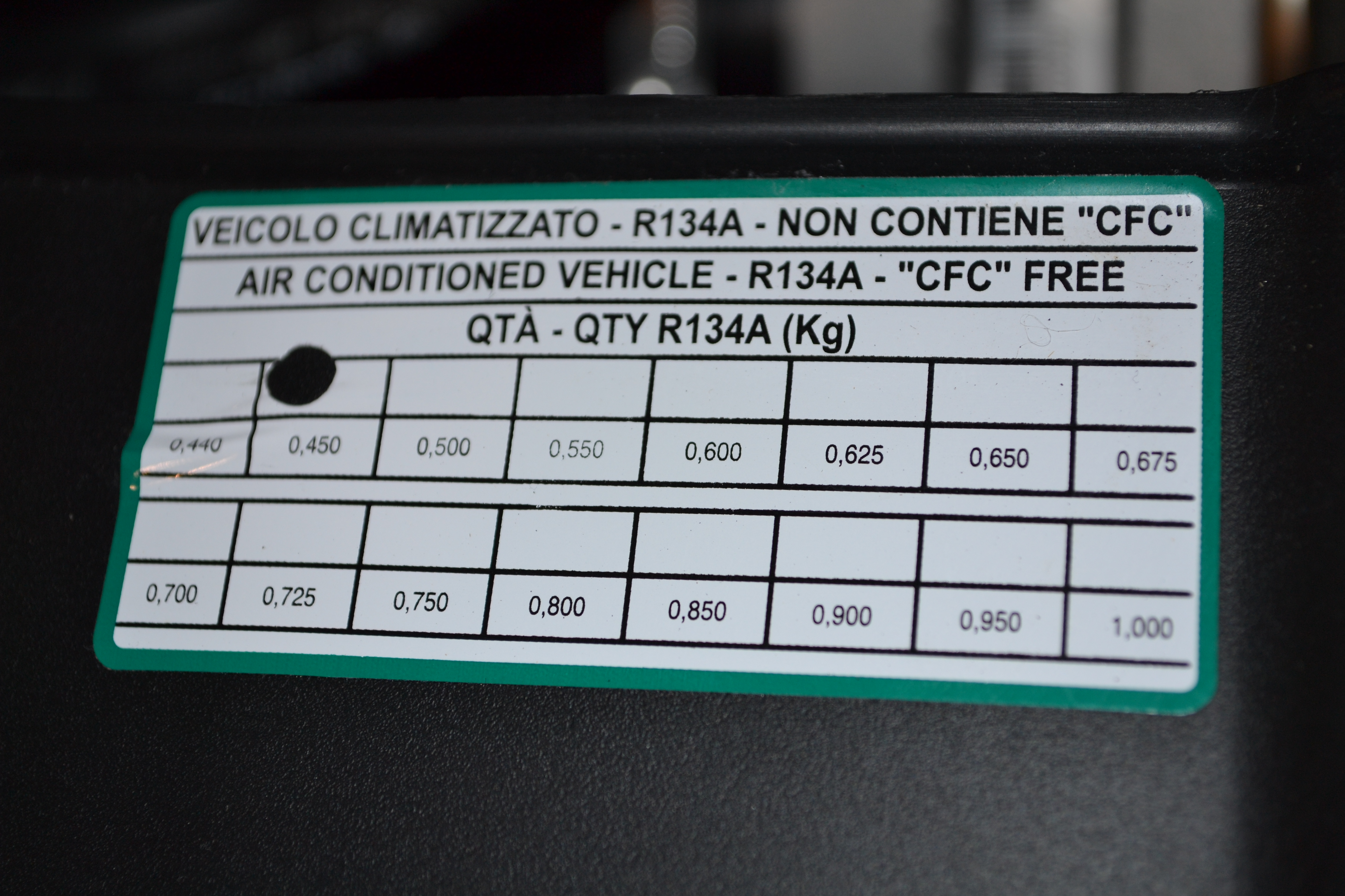 Fiat Now Using R 1234yf In U S Vehicles Mobile Air