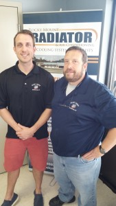 Bryan and Chuck Braswell of Rocky Mount Radiator