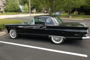 The Thunderbird was one of Ford's most popular models for 1957