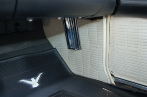 The passenger's side interior cowl vent
