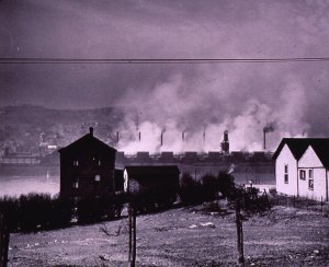 View of Donora from Webster, circa 1949