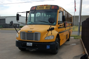 A/C is increasingly becoming more popular in many school buses, especially in southern states like Texas.