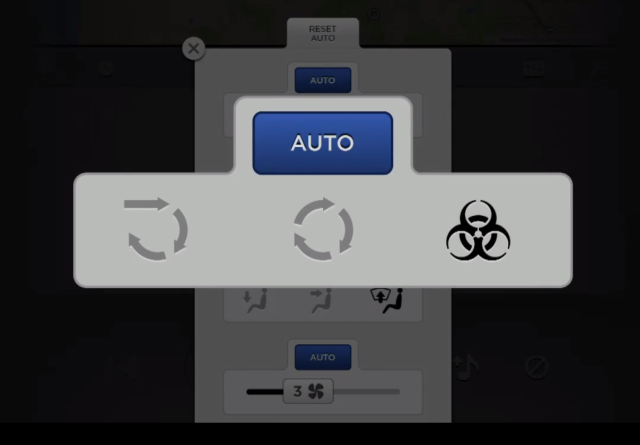 Figure 3 Tesla bio-weapon defense mode button