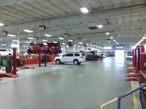 Have you ever seen so many service bays in one shop?