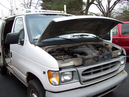 Heater core issues were chilling the driver of this 1999 Ford E-150 work van.