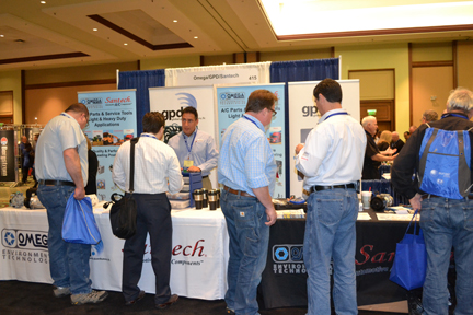 how to run a successful trade show