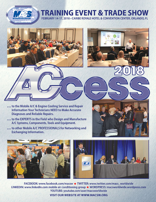 Registration is now open for MACS 2018 Training Event and Trade Show