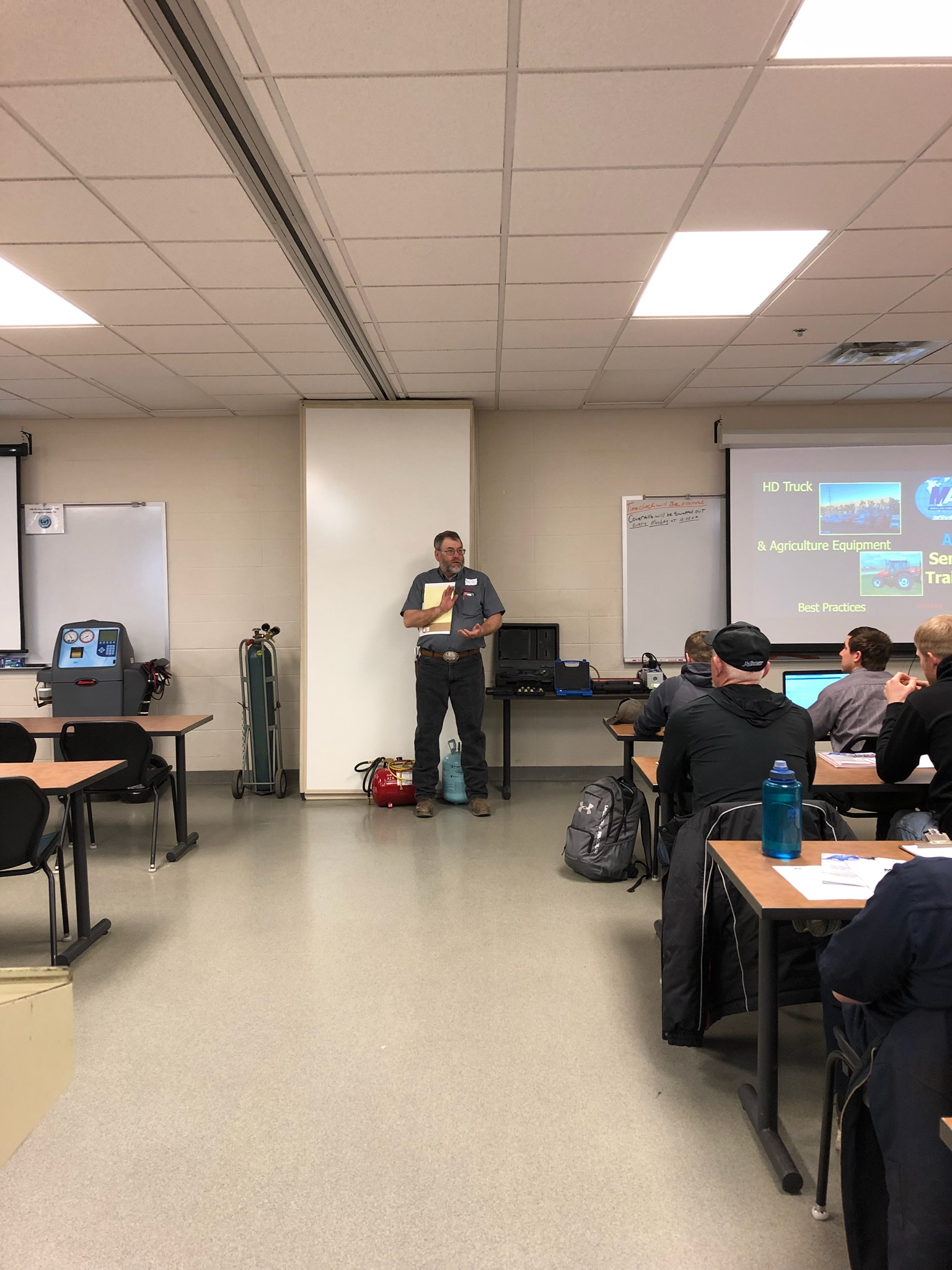 Macs Training Clinic In Watertown Sd Mobile Air Conditioning